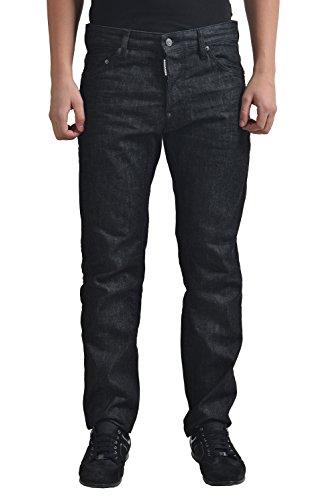 Dsquared2 Men's Black Baggy Jeans US 32 IT 48