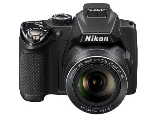 NikonデジタルカメラCOOLPIX P500 ブラック P500 1210万画素 裏面照射CMOS 広角22.5mm 光学36倍 3型チルト式液晶 フルHD