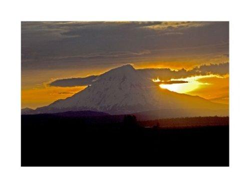 Mount Shasta by John K. Nakata