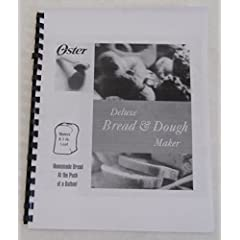 Oster Bread Machine Maker Manual & Recipes (5821)