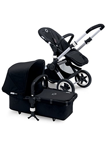 Bugaboo Buffalo Canvas Tailored Fabric Set, Black