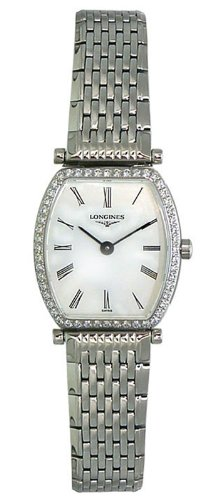 Longines La Grande Classique Stainless Steel & Diamond Womens Luxury Watch L4.288.0.11.6