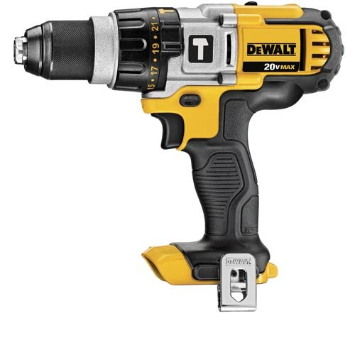 Factory-Reconditioned Dewalt Dcd985Br 20V Max Cordless Lithium-Ion Premium 3-Speed Hammer Drill (Bare Tool)