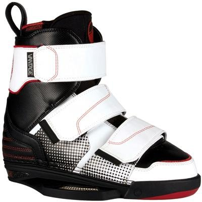 Image of Liquid Force Vantage CT Wakeboard Bindings (For Men) - WHITE/BLACK/ORANGE (B004AFGBDG)
