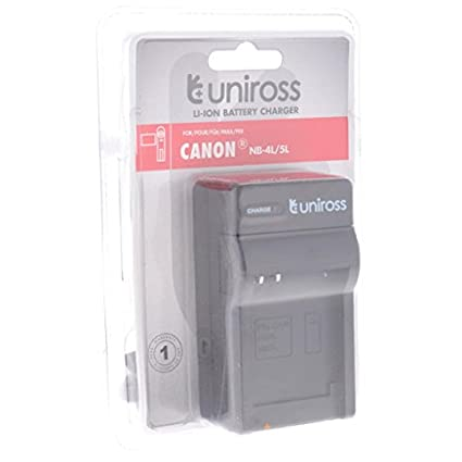 Uniross Battrey Charger (For Canon- NB4L/5L)