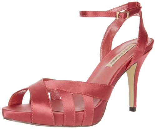 MENBUR Kadam 5172, Sandali col tacco donna, Rosa (Pink (Coral 35)), 41
