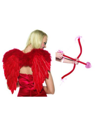 Valentine's Day Costume-Accessory Cupid Kit, Bow, Arrow & Love Wings