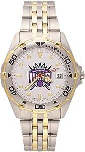 Sacramento Kings Mens All Star Watch Stainless Steel Bracelet by Logo Art