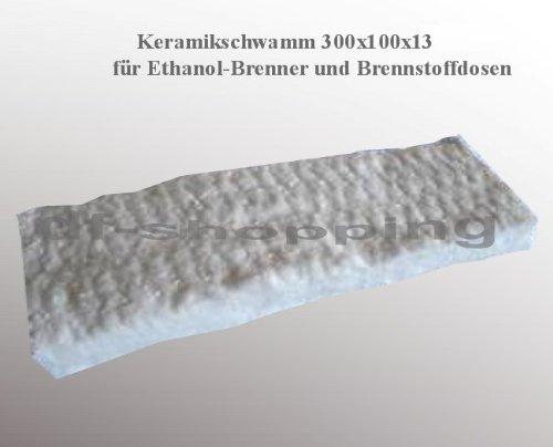 2 x Spugna di ceramica camino bioetanolo biocaminetto