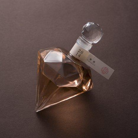 株式会社 宏和商工 ダイヤのボトルに入った梅酒 DIAMOND PINK ダイヤモンド ピンク 1,700円前後