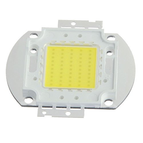 (Ship From Us)Ronshin 1Pcs 50W Led Chip Cool White Bulb High Power Energy Saving Lamp Chip Energy Saving 4000-5000Lm Led Light Lamp Smd Chip Dc 32-34V For Diy New Lc00012