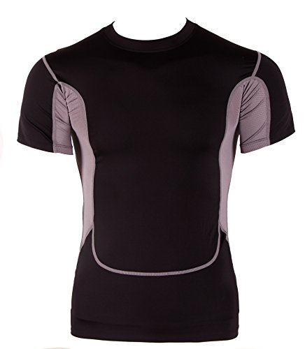 lorata-camisa-camiseta-deportiva-manga-corta-para-hombres-secado-rapido-atletico-tenica-transpirable