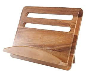 T&G Gift Range Cook Book Stand in Acacia Wood