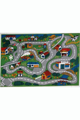 Fun Time - Country Fun Kids Rugs - 39 x 58 in.