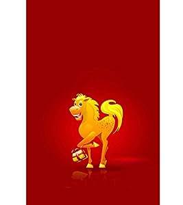 EPICCASE Golden Horse Mobile Back Case Cover For LG G3 Beat (Designer Case)