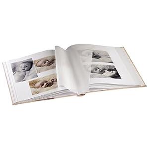 Hama Babyalbum Baby Feel (Fotoalbum mit 29 x 32 cm, 60 Seiten, 60 Blatt, 300 Fotos) s