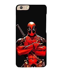 EPICCASE Deadpool terror Mobile Back Case Cover For Micromax Canvas Knight 2 E471 (Designer Case)