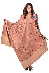 Weavers Villa - Women's Orange Kashmiri Cashmilon Shawls ,Stoles