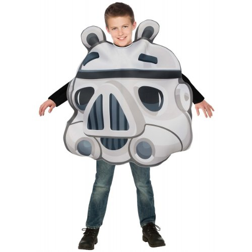Stormtrooper Pig Costume - One Size