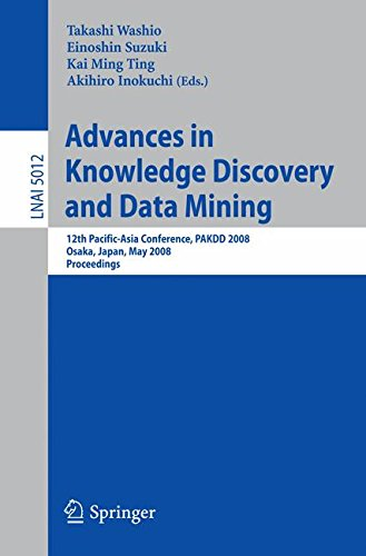 Advances in Knowledge Discovery and Data Mining: 12th Pacific-Asia Conference, PAKDD 2008 Osaka, Japan, May 20-23, 2008