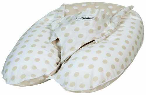 Candide Baby Group Multirelax 3 In 1 Maternity Cushion Pillow, Beige With Dots