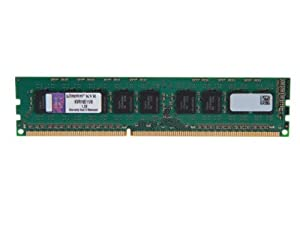 Kingston Technology ValueRAM 8GB DDR3 1600MHz PC3 12800 ECC CL11 DIMM with TS Server Workstation Memory KVR16E11/8