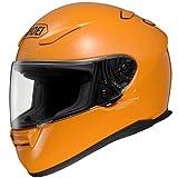 Shoei Solid RF-1100 Full Face Motorcycle Helmet - Pure Orange / X-Large