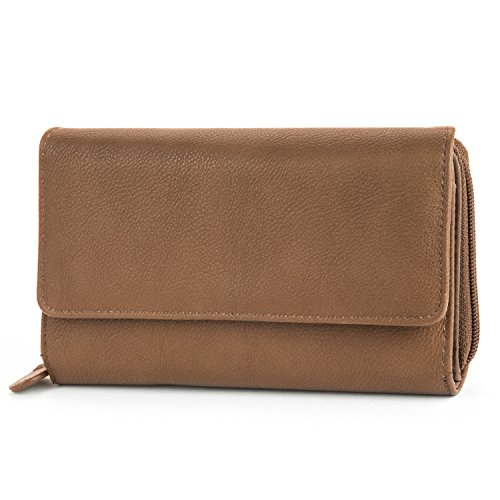 Mundi Big Fat Trifold Wallet, Brown, One Size (Target Wallet compare prices)