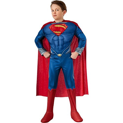 Man of Steel: Superman Light-Up Muscle Kids Costume