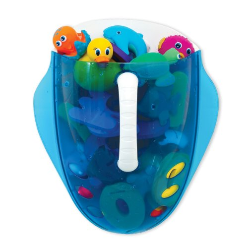For sale Munchkin Scoop Drain and Store Bath Toy Organizer, Blue