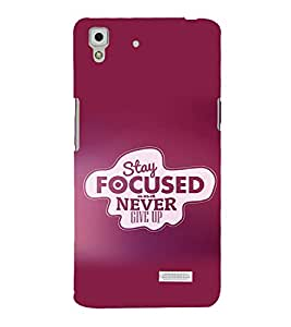 printtech Cool Quotes Success Back Case Cover for Oppo R7