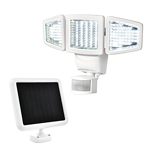 SOLAR MOTION ACTIVATED LIGHT.150 LED TRIPLE HEAD. SUNFORCE by Sun Force (Solar Motion Led Light compare prices)
