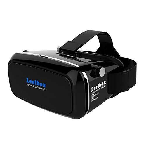 3D VRヘッドセット•メガネ/VR BOX 超3D映像/仮想現実を体験(iPhone 6s/6 Plus/6/5S/5C/ Note4/ Note5/Samsung Galaxy S5/ S6 & 全ての