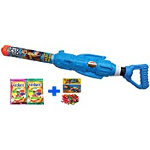 Rocket Launcher Holi Water Gun Pichkari Pipe With 2 Herbal Gulal And Water Balloon