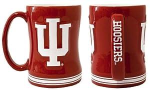 Buy Indiana Hoosiers Coffee Mug - 15oz Sculpted by Caseys