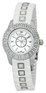 Christian Dior Women's CD112113R001 Christal Rubber Bracelet Watch by Christian Dior