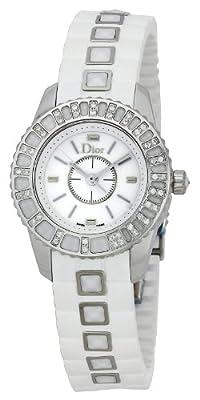 Christian Dior Women's CD112113R001 Christal Rubber Bracelet Watch