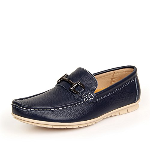 Doug leather casual shoes/Soft lazy was wearing men's shoes at the end of