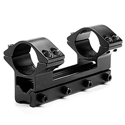 Mizugiwa One Piece High Profile Magnum Airgun Scope Mount with Stop Pin by Mizugiwa (BJ) Co.,Ltd
