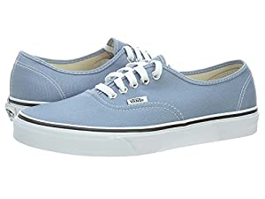 Vans Authentic Sneaker Faded Denim/True Wht 9 M US Men / 10.5 M US Women