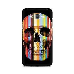 Mobicture Skeleton Love Premium Printed Case For Samsung J5