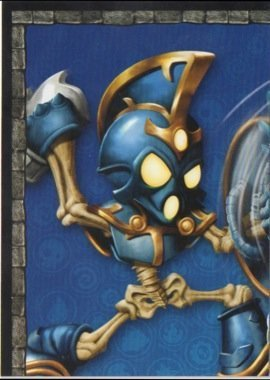 Skylanders Giants No. A1 PUZZLE - Puzzle Card Individuelle Trading Card