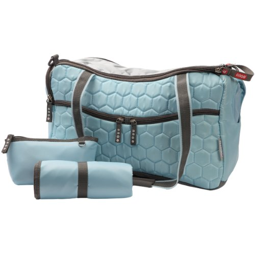 Teafco Argo Momster Diaper Bag, Medium, Maldives Blue