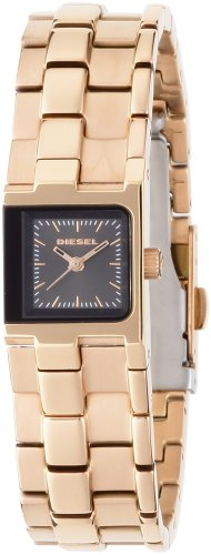 Diesel DZ5245 Ladies Square Rose Gold Watch