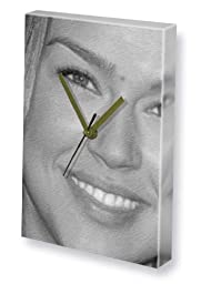 ADRIANNE PALICKI - Canvas Clock (LARGE A3 - Signed by the Artist) #js002