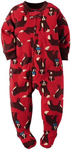Carter's Little Boy's Footie (Toddler) - St Bernard - 4T