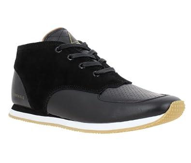 Eleven paris - Chaussures A Lacets Runsuede cuir + velours Femme - Taille 36 - Couleur Noir