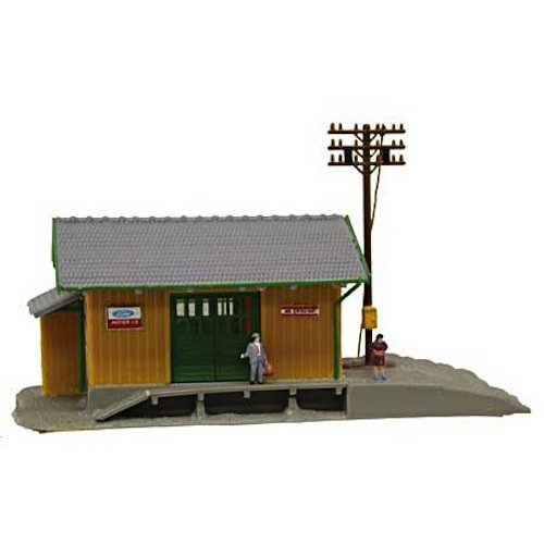 N B/U Wayside Station, Lighted w/Figures
