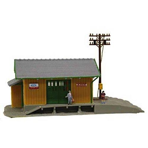 N B/U Wayside Station, Lighted w/Figures - 1