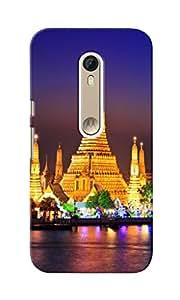 KnapCase Wat Pho Designer 3D Printed Case Cover For Motorola Moto X Style